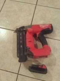 red and black cordless power drill Hyattsville, 20784