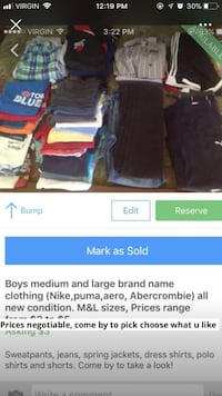 Alot of boys clothes brand name NEW 545 km
