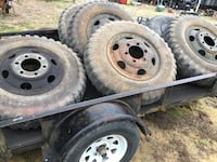 Army truck tires and rims