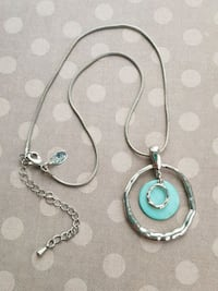 Necklace, turquoise colour, worn for special occasion Airdrie, T4B 0E4
