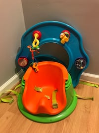baby's red and green booster seat Columbia, 21044