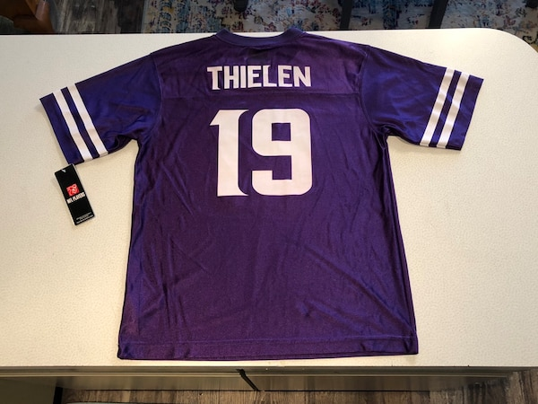 lowest price b3056 b56db NFL Minnesota Vikings Adam Thielen #19 Jersey youth size Large 14/16 brand  new with tags!!