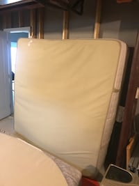 Good condition king size mattress.  Few water stains