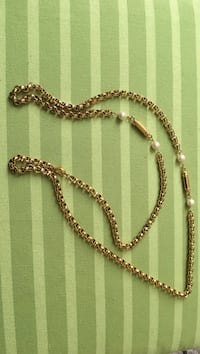gold-colored chain necklace Bethesda, 20817