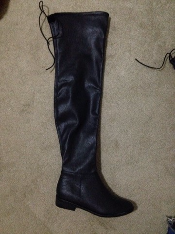 Over the knee boot, size 7 1/2 Sidney