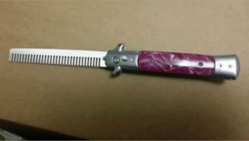 Switch blade comb new