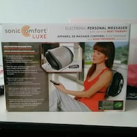 Sonic comfort luxe personal massager box Toronto, M9V 4J2