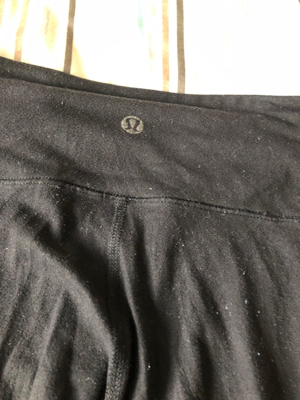 Lululemon wunder unders size 2 black good condition f67ce932-b1a5-465f-88d8-07bc7c0be028