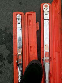 Snap on torque wrenches.