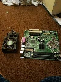 Motherboard and Fan Springfield, 22153