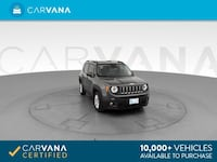 2017 Jeep Renegade suv Latitude Sport Utility 4D GRAY Brentwood