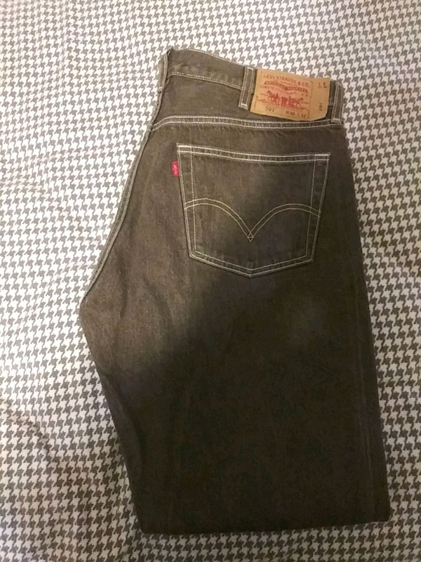 Denim Vendre À Letgo Brown Levi's L32 W40 Garland Usagé 501 xECBSwqPH