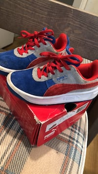 blue-and-red Nike Air Max shoes Gaithersburg, 20877