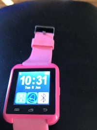 black and pink smart watch Omaha, 68132