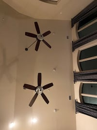 Two matching Hunter ceiling fans Wylie, 75098