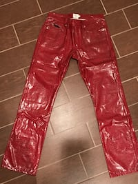 brown and red floral jeans Tenafly, 07670