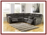 Tambo Pewter Reclining Sectional Ellicott City