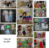 Stuffed Toys/Animals Lot (Take all for $25) Mississauga