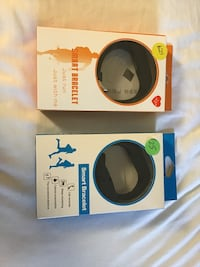 two black and yellow wireless headphones boxes Norfolk, 23502