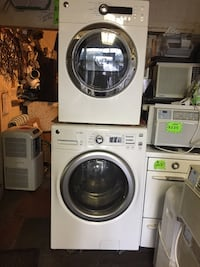 white front-load washer and dryer set Toronto