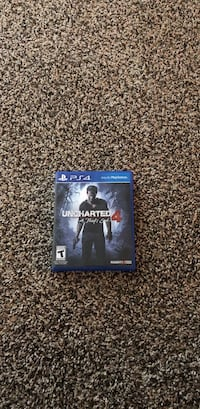Uncharted 4 PS4 game case Wolfforth, 79382