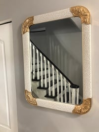 New mirror white and gold and black frame see pictures size LxW 31x24 asking $99 each contact Richard  [TL_HIDDEN]  Toronto, M9V 4T4