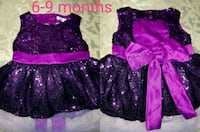 Baby girl 6 to 9 m dress used once Sierra Vista, 85635