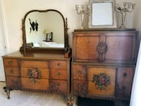Antique hand painted 1920,s bedroom set Leesburg, 20176