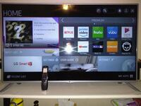 black flat screen TV with remote 85339, 85339
