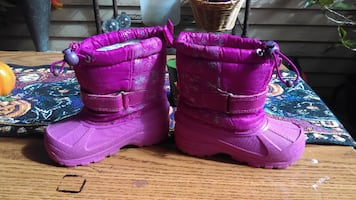 Girls Winter Snow Boots