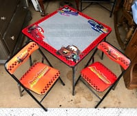 Cute Disney Cars Table & Chairs  Albrightsville, 18210
