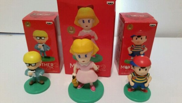 Earthbound Mother2 Figures Set