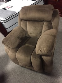 brown suede recliner chair Nashville, 37211