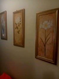brown wooden framed painting of flowers Arlington, 22204