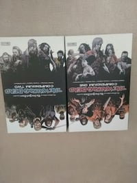 THE WALKING DEAD COMPENDIUM VOLUME 1 & 2   Surrey, V3S