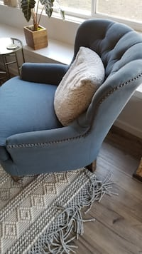 Pottery Barn Cardiff Tufted Chairs Chico