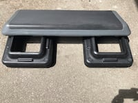 The step stepper gray black with 4 risers Toronto, M3J 1Y8