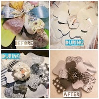 Decor and craft upcycling/refreshes. Las Vegas