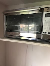 gray stainless steel microwave oven Seattle, 98101