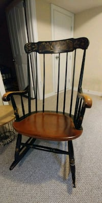 black and brown wooden rocking chair Chilliwack, V2P 1E6