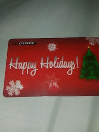 50$ eb games card Winnipeg, R2L 0G4