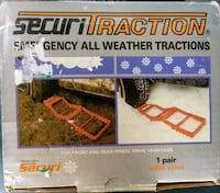 Pair Securitraction mud snow tire traction Woodstock, 22664