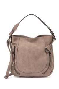 New Jessica Simpson Roxanne Hobo Faux Leather Bag
