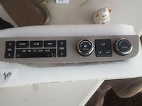 Control Panel for audio and heat&a/c Columbia
