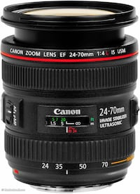black Canon EFS 18-55mm camera lens Vaughan, L4J