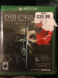 XBOX ONE DISHONORED 2 LIMITED EDITION  Stone Mountain, 30087