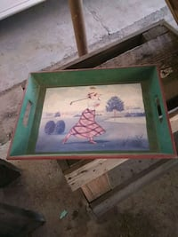 Painted tray El Monte, 91734