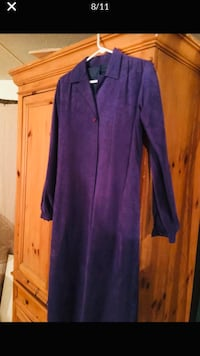 Purple trenchcoat suede size small Summerville, 29483