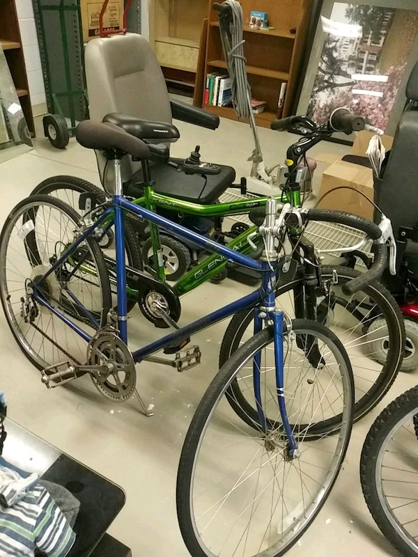 1867c0812a2 Used blue and green mountain bike for sale in Tulsa - letgo