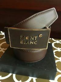 Beautiful Brown Fine Quality Leather Belt Mississauga, L4Z 3M4